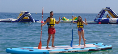 SUP in Sesimbra