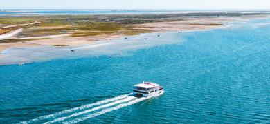 Half-day island cruise from Olhão