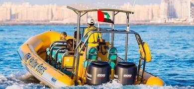 Speedboat sightseeing tour in Dubai