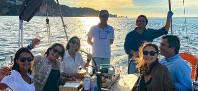 Relax on board in Lisbon