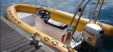 Private RIB boats in Sesimbra