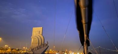 Night sailing tours in Lisbon