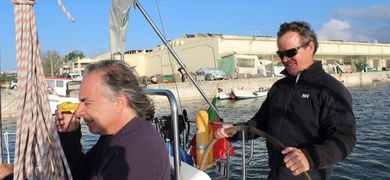learn sailing lisbon