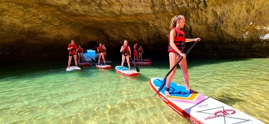 Stand-Up Paddleboarding in Albufeira Cover