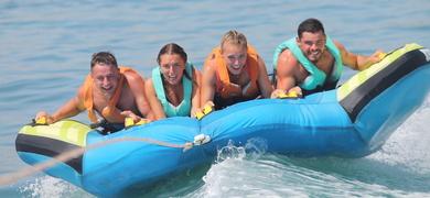 Exciting watersports in Armação de Pêra