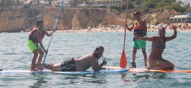 stand-up paddle Armação de Pêra
