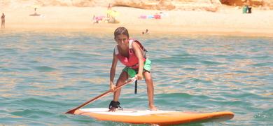 stand-up paddle tour Armação de Pêra