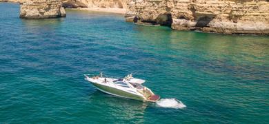 Morning Albufeira yacht charter