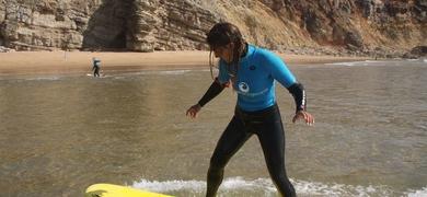 Surf lessons sagres