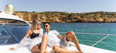 Relax on board of your yacht in Albufeira