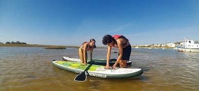 Learn how to do SUP in the Algarve