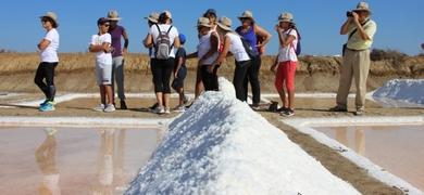 salt pans in Faro
