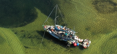 Private sunset cruise fro two in Ria Formosa