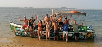 Family cruise Ria Formosa