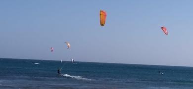 Kitesurfing in Boa Vista