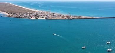 Olhão boat tour to 3 Ria Formosa Islands