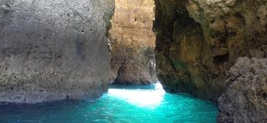 Ponta da Piedade trip with swimming