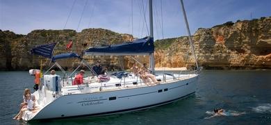 Private sailing in Vilamoura