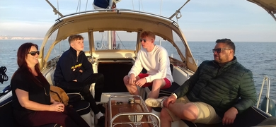 sailing tour in Vilamoura