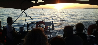 Private sunset sailing in Vilamoura