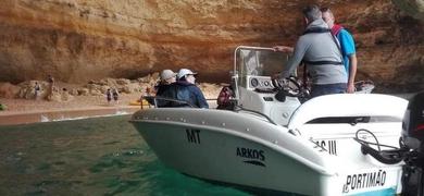 Private Portimão Benagil cave tour for 3
