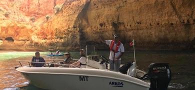 Private Portimão cave tour