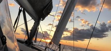 Sunset sailing lagos