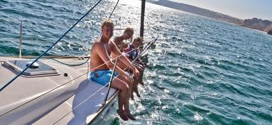 Sailing charter in Portimão