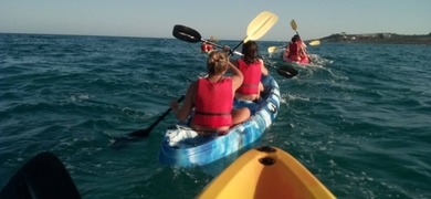 Alicante kayak tour