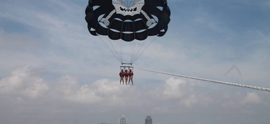 Parasailing in Barcelona