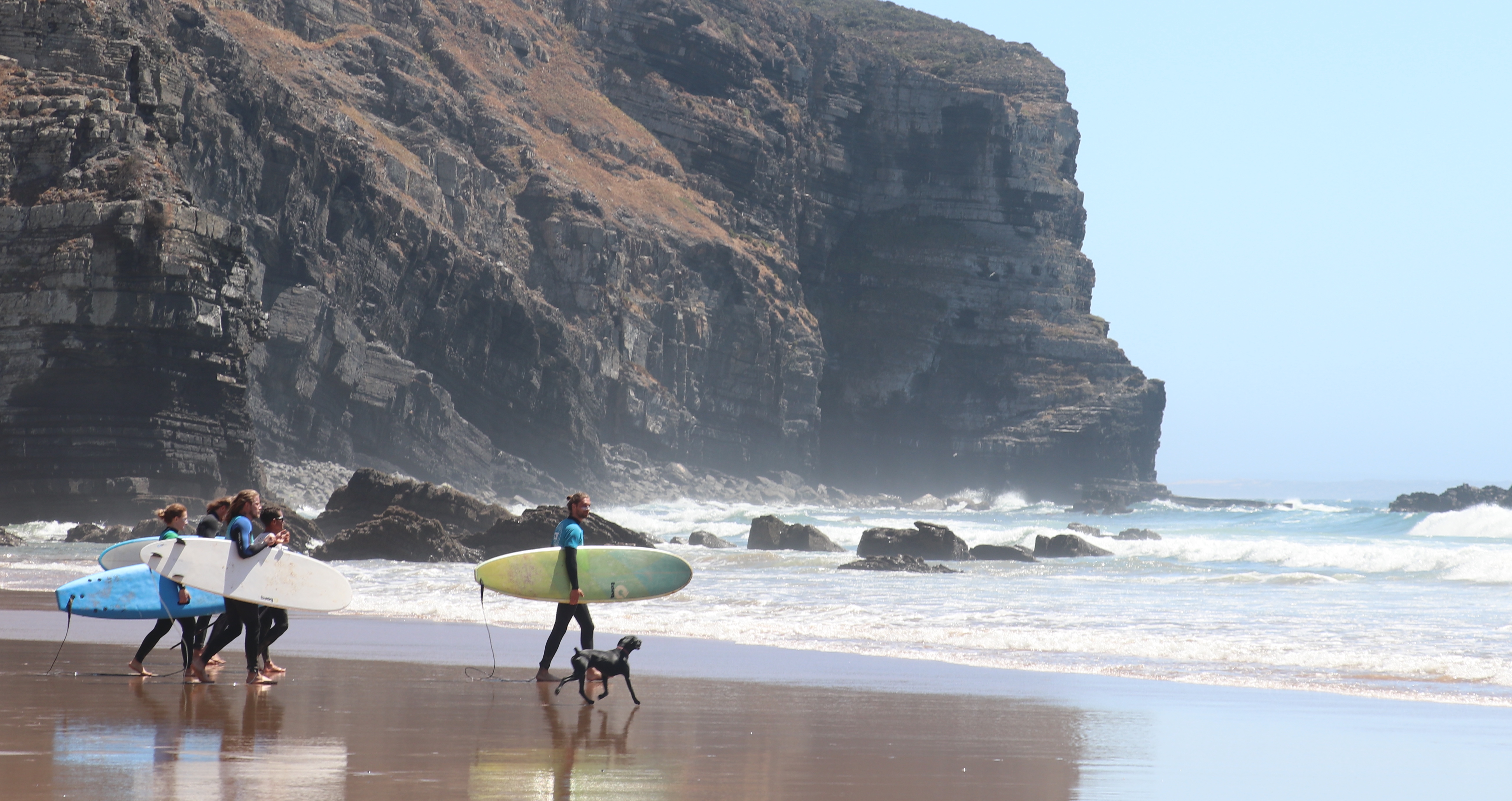 surf lessons in portugal