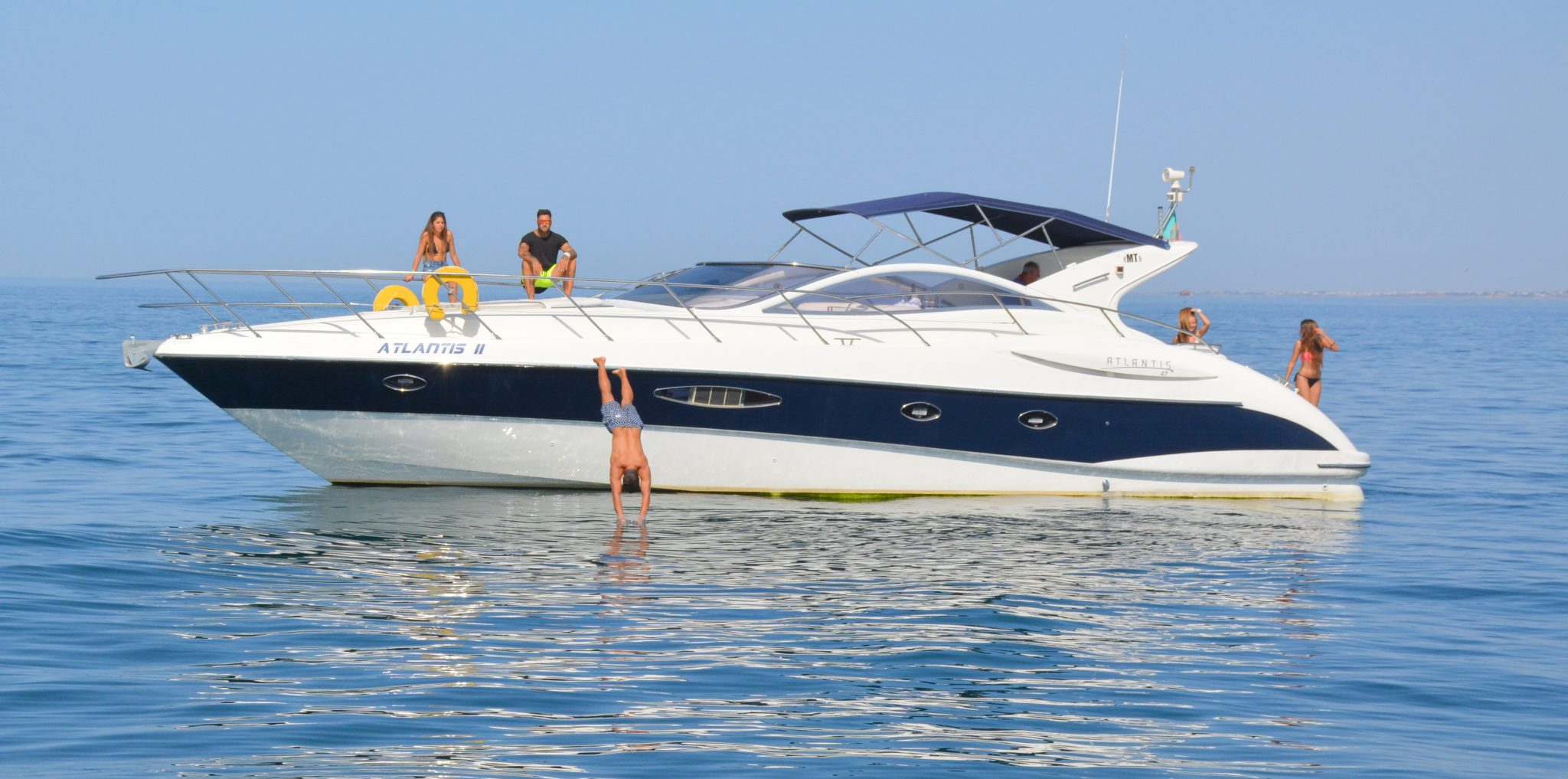 Private Yacht in Vilamoura - full day