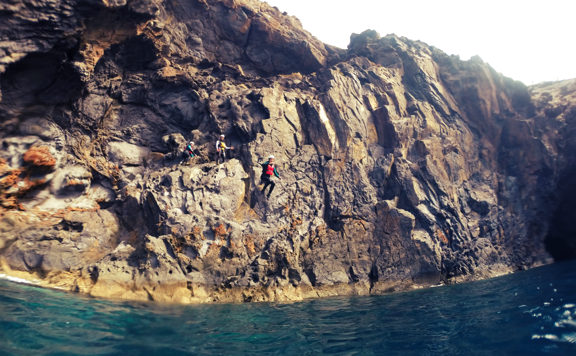 Cliff Diving Madeira