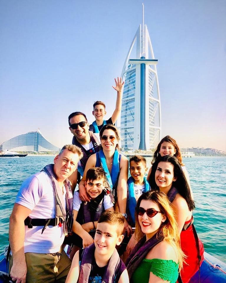 Private boat tour in Dubai