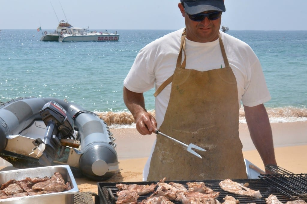 BBQ boat trip albufeira , Algarve, Portugal