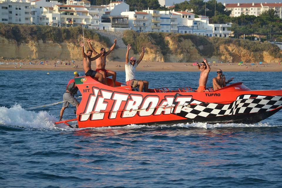 Jetboat Algarve is one of the fastest activities in the Algarve for groups