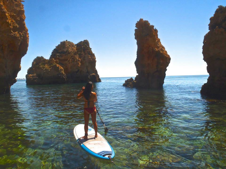 Stand up paddle boarding Lagos best activities in the Algarve for groups
