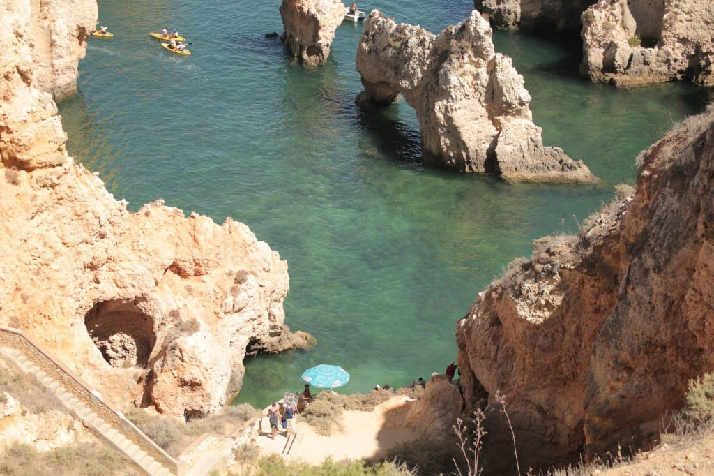 Ponta da piedade most beautifull beaches in the world - Boat trips Lagos , Algarve, Portugal