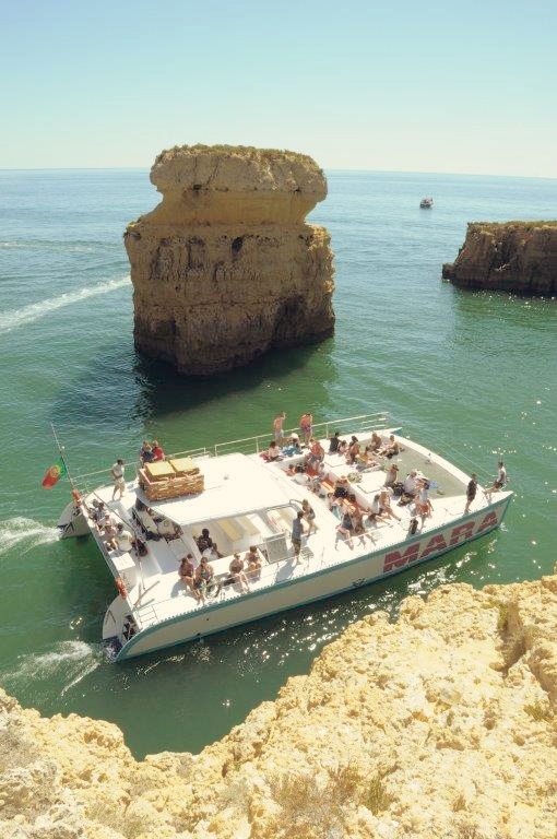 Bootsfahrt nach Benagil von Albufeira