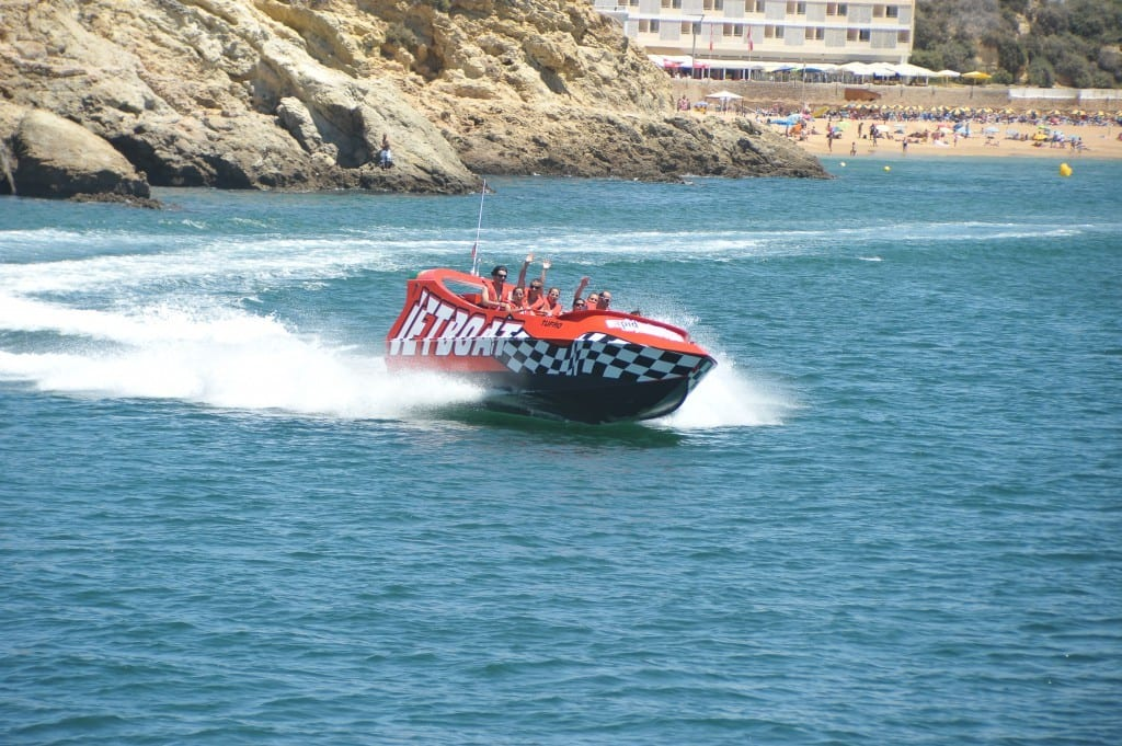 Albufeira things to do: 30min jetboat