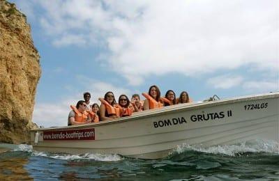 Bomdia boattrips - cave trip from Lagos - Things to do Lagos, Algarve