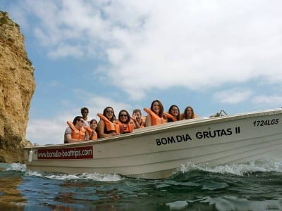 Bomdia boattrips - cave trip from Lagos - Things to do Lagos, Algarve