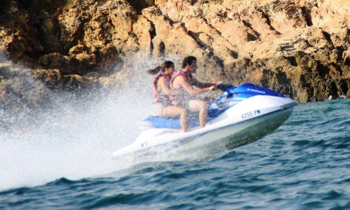 Albufeira things to do: jet ski