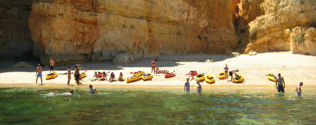 kayak tours - lagos - Algarve