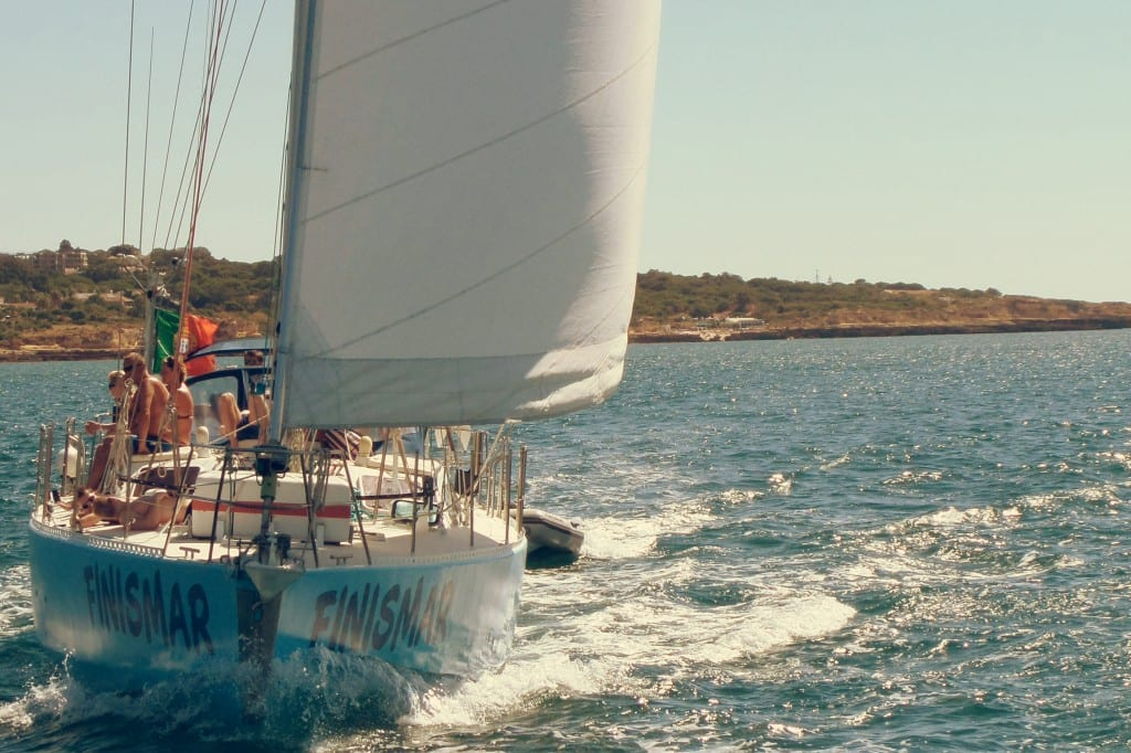 Sailing Albufeira