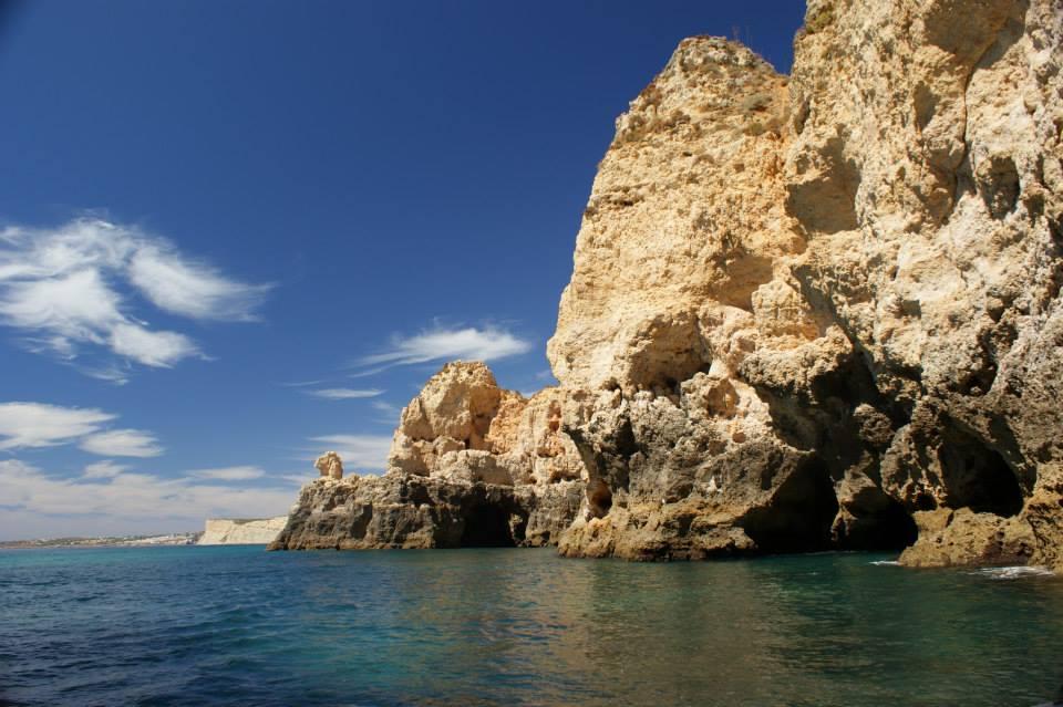 grotten boot trip lagos, Grotto boat trip from Lagos, Passeio as grutas da ponta da Piedade,