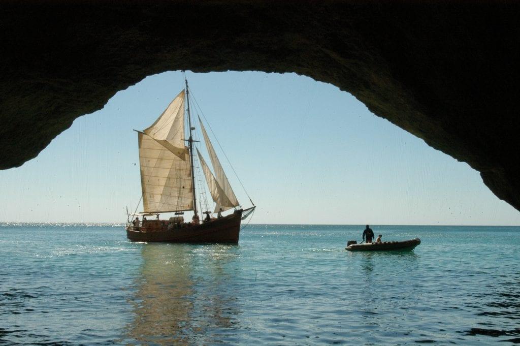 Passeio de barco em Albufeira no Leãozinho
