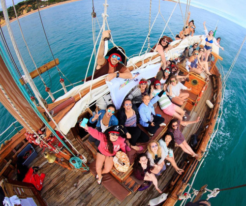 The pirate boat in Albufeira is a lot of fun for the whole family