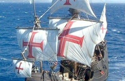 Pirate ship in Madeira