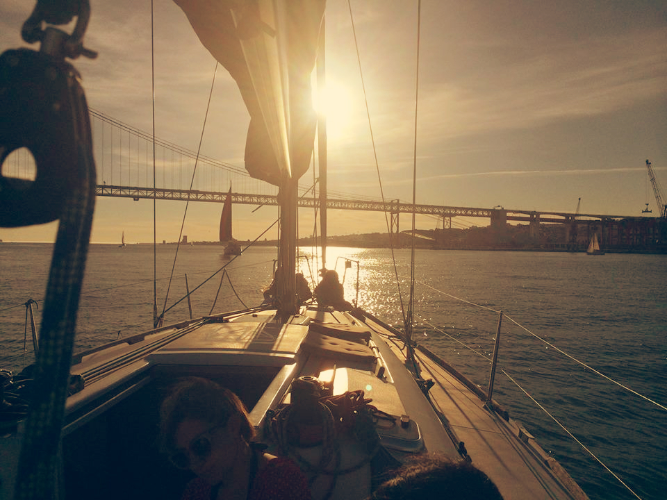 Sailing Lisboa Portugal